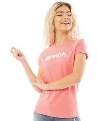 Bench Miller T-shirt Peach - Pink