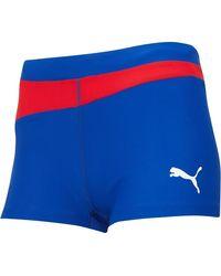 PUMA Short Volleyball Hot Multicolore - Bleu