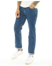f531484fa37 Levi's Subway Station 501 Original Fit Jeans in Blue for Men - Lyst