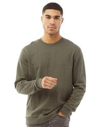 Only & Sons Sweat Winston Vert Chiné