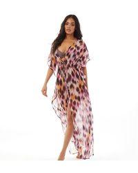 South Beach Robe Longue Multicolore