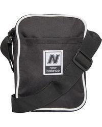 New Balance Unisex Classic Cross Body Bag Black