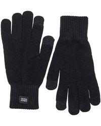 Jack & Jones Knitted Gloves Black