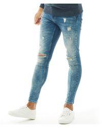 Kings Will Dream Rumer Hipster Denim Jeans Midwash - Blue