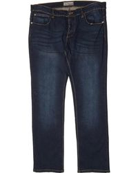 087f035d Plus Size James Slim Fit Jeans Darkwash - Blue
