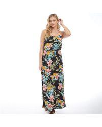 873bcded9d3e Just Cavalli Vintage Jungle Print Maxi Dress - Multicolor - Lyst