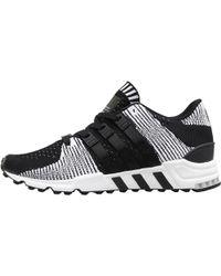adidas Originals - Eqt Support Rf Primeknit Trainers Core Black/core Black/footwear White - Lyst