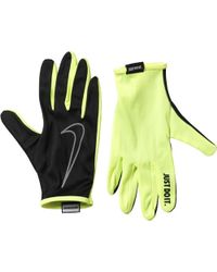 Nike | Rally Run Gloves 2.0 Black/volt | Lyst