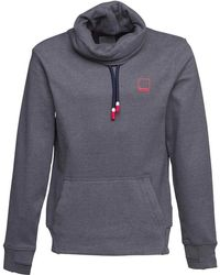 Bench - Her Funnel Sweat Mid Grey Marl - Lyst