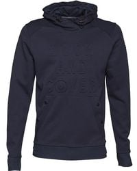 Duck and Cover - Stern Double Faced Hoody Deep Navy - Lyst