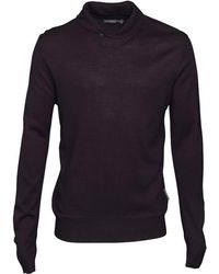 French Connection - Cash Wrap Jumper Marine - Lyst