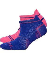 Sof Sole Select Ankle Tab Two Pack Socken Lila
