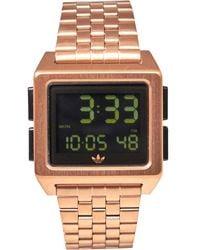 adidas Originals Archive_m1 Horloge Metallic