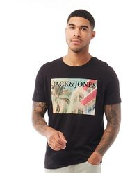 Jack & Jones Palmers T-Shirt Schwarz