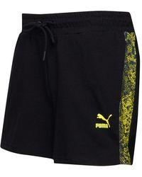 PUMA Shorts Schwarz