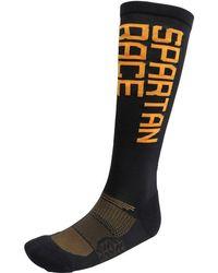 Reebok - Spartan Race Graphic Running Crew Socks Black - Lyst