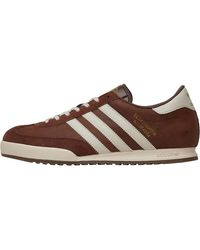 adidas Originals Beckenbauer All Round Trainers Vintage Brown/white