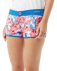 Animal - Florianne Board Shorts Neon Orange - Lyst