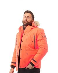 Superdry Veste Waterproof Premium Ultimate Down Orange
