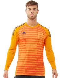 adidas Northern Ireland 2018/19 Home Goalkeeper Shirt - Orange