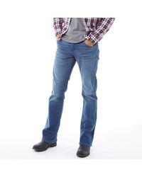 Levi's 527TM Boot Cut Jeans in Slim Passform Mittelblau