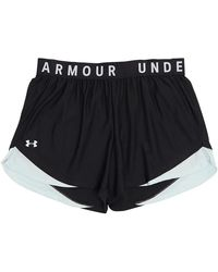Under Armour Play Up 3.0 Plus Size Shorts Black