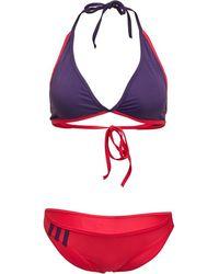 adidas Bikini Beach Infinitex Halter Violet Foncé