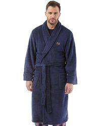 Ben Sherman Henry Bademantel Navy - Blau