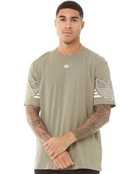 adidas Originals Radkin T-Shirt Herren - Mehrfarbig
