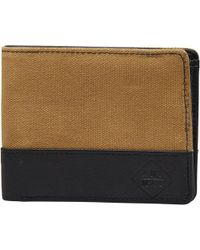 Animal Reckless Wallet Vintage Yellow - Multicolour