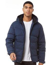 Produkt Jackson Puffer Jacket Dress Blues