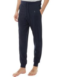 French Connection - Fc Jogger Lounge Trousers Marine/gunmetal - Lyst