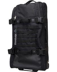 Reebok - Ultimate Rolling Bag Black - Lyst