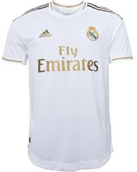 adidas Rmfc Real Madrid Home Authentic Jersey Wit