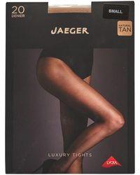 Jaeger One Pack Sheer Tights 20 Denier Black