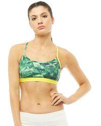 4466474ecd Reebok - Crossfit Speedwick Strappy Sports Bra Top Bright Green - Lyst