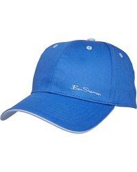 Ben Sherman Casquette Stepney Baseball Bleu