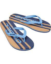 O'neill Sportswear Profile Cali Flip Flops Blue
