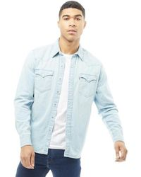 Levi's - Classic Western Shirt Laundered Light - Lyst