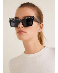 Mango - Metal Appliqué Sunglasses - Lyst