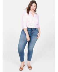 Violeta by Mango - Jeans Bi-stretch Push-up Irene - Lyst