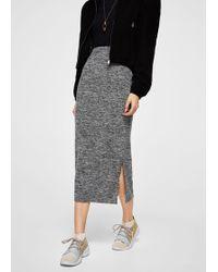 Mango | Flecked Pencil Skirt | Lyst