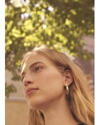 Mango - Hoop Earrings - Lyst