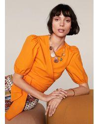Mango - Shells Necklace - Lyst