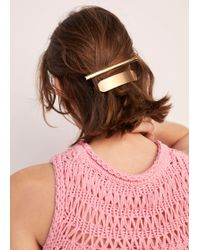 Mango - Hairclip Set - Lyst