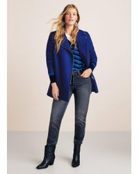 Violeta by Mango - Lapels Wool Coat - Lyst