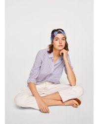 Violeta by Mango - Turban Headband - Lyst