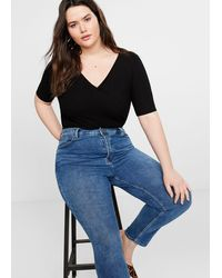 Violeta by Mango - Slim-fit Stella Jeans - Lyst