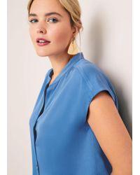 Violeta by Mango - Triangular Earrings - Lyst