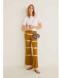 Mango Chain Crossbody Belt Bag Brown